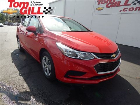 New 2017 Chevrolet Cruze LS FWD 4dr Car