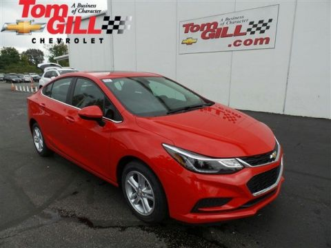 New 2017 Chevrolet Cruze LT FWD 4dr Car