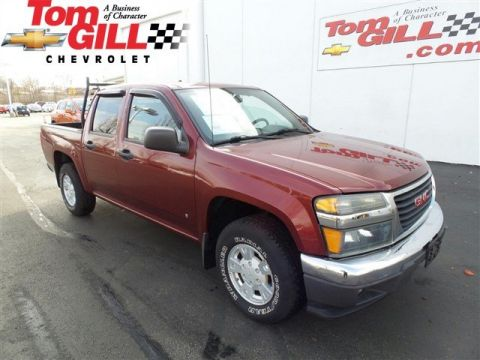 Pre-Owned 2007 GMC Canyon SLE2 RWD Crew Cab Pickup